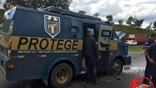 Video dos ladrões em assalto a carro-forte na Anhanguera