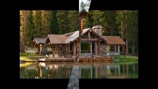 видео Дома, красивые дома в лесу, домик в лесу