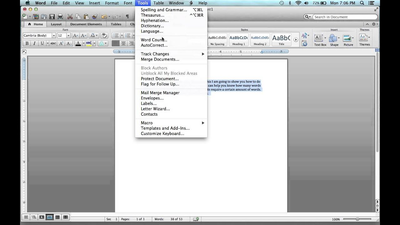How to do a word count on microsoft word on a apple macbook pro how to do a word count on microsoft word on a apple macbook pro spiritdancerdesigns Gallery