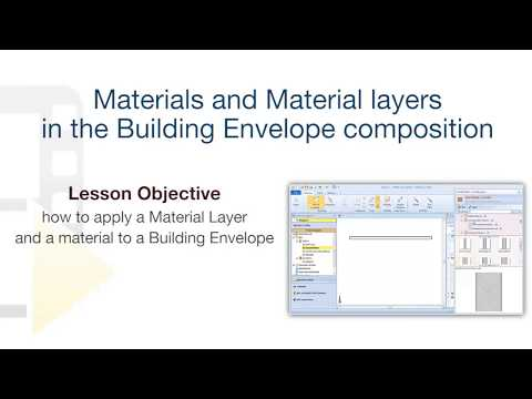 Edificius Tutorial - Material Layers and Building envelope materials - ACCA software