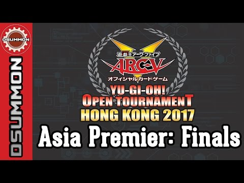 [Yu-Gi-Oh!] YOTHK 2017 - Asia Premier Finals Feature Match