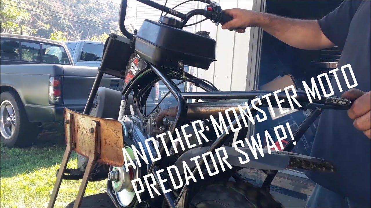Another Monster Moto Predator 212cc budget build