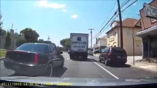 Bad Drivers of Philadelphia 8 - Wheelies, Two Near Crashes
