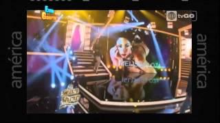 Sheyla Rojas y Patricio Parodi parodian famosa caída de Melissa Loza - Esto es Guerra - 18/05/2015