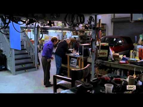 Breaking bad clothing store scene