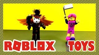 Roblox Toys Unboxing - Vorlias and Roblox Skating Rink Queen from the Gold Collection (Series 3)