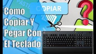 tutorial, teclado, copiar y pegar