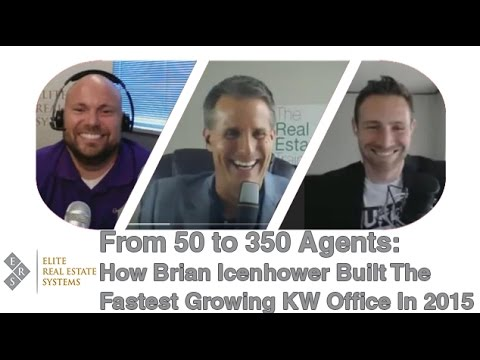 real estate agent recruiting from 50 to 350 agents youtube