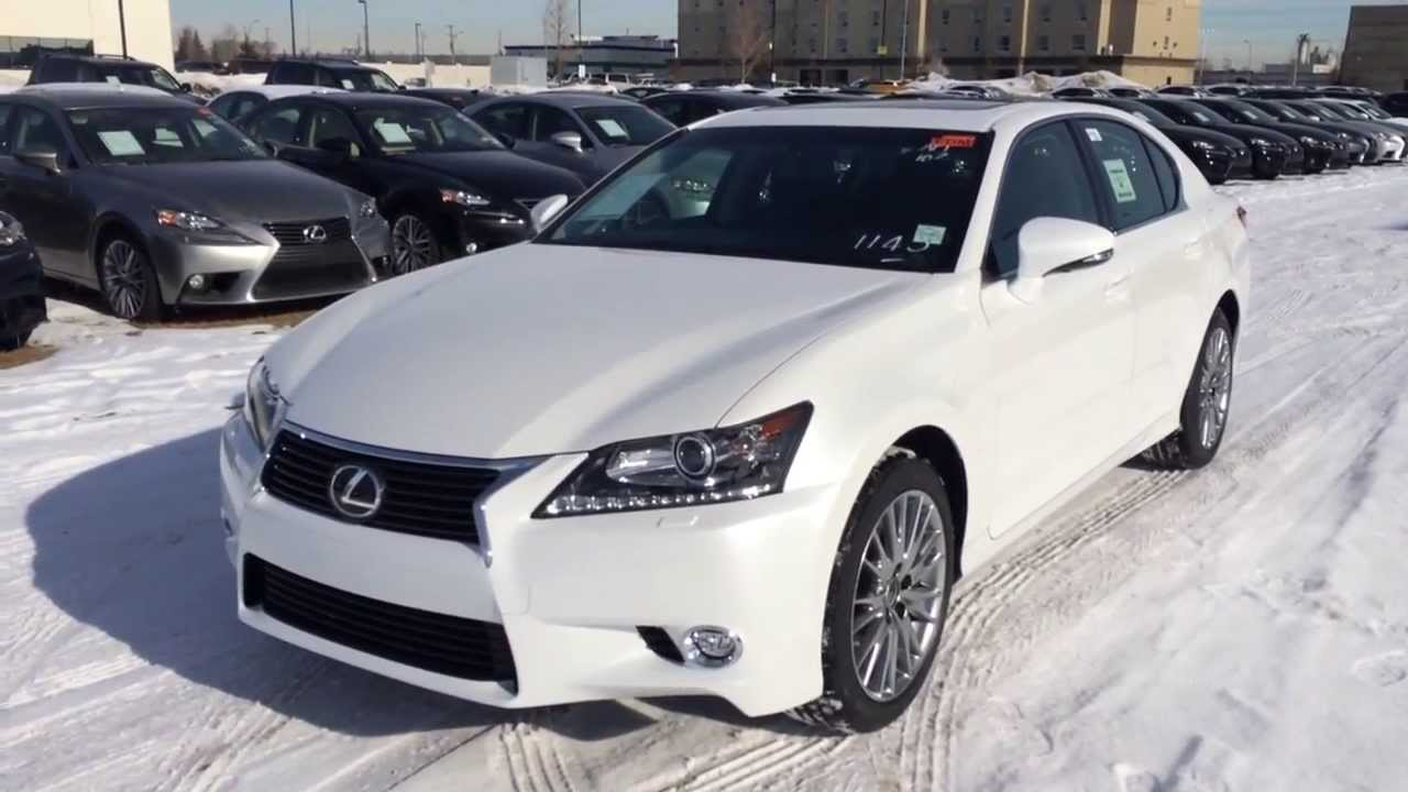 Great 2014 Lexus GS 350 AWD Luxury Package Review