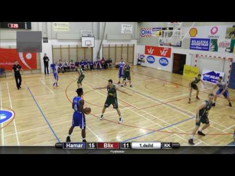Sam Prescott, White jersey nr.4. Iceland 1.division. Full game.