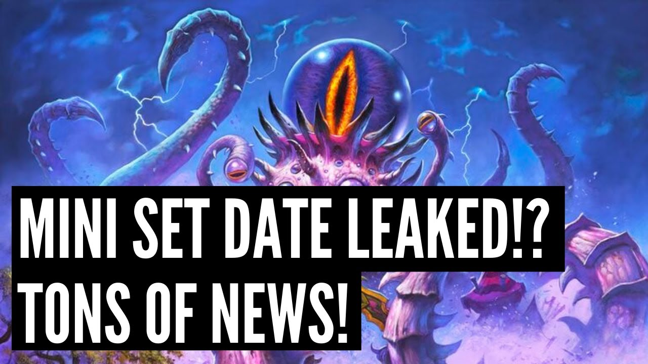 Darkmoon Faire Mini Set release date LEAKED!? Tons of NEWS and DETAILS! Only costs 2000 gold?