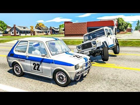 Stig Crash Testing #1 - BeamNG Drive Crashes