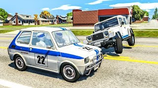 Stig Crash Testing #1 - BeamNG Drive Crashes