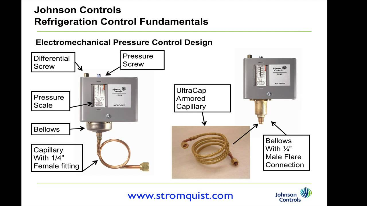 maxresdefault johnson controls high pressure controls youtube ranco pressure control wiring diagram at n-0.co