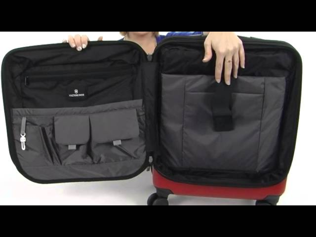 729a35886b27 Victorinox Spectra™ Dual-Access Extra Capacity Carry On SKU  8296345 -  YouTube
