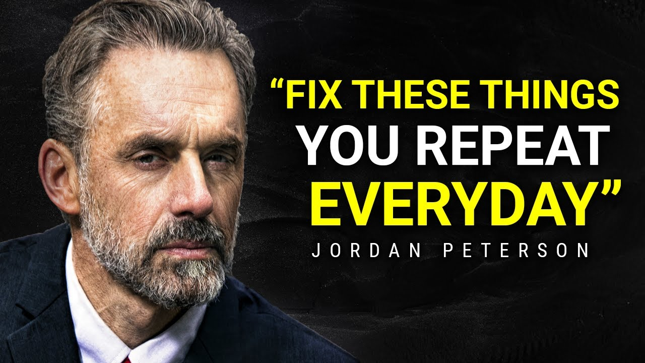 WATCH THIS EVERY DAY | Motivational Speech By Jordan Peterson