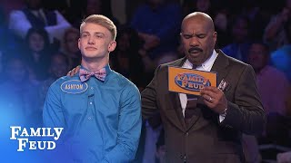The Kirbys CRUSH Fast Money! | Family Feud