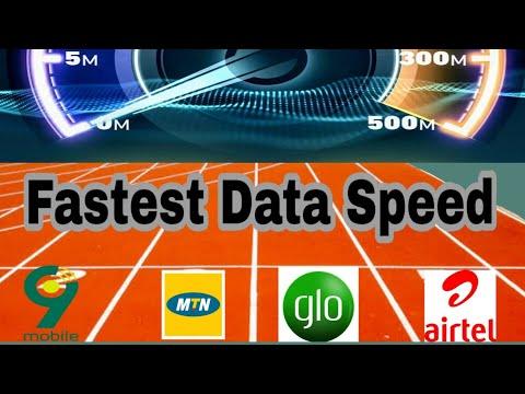Fastest Data Speed in Lagos 2019