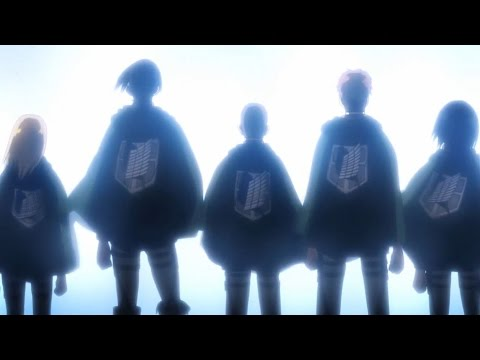 Attack on Titan AMV -[Wings of Freedom] (AmaLee's cover)