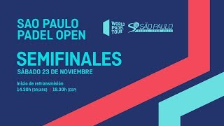 Semifinales  - São Paulo Padel Open 2019 - World Padel Tour