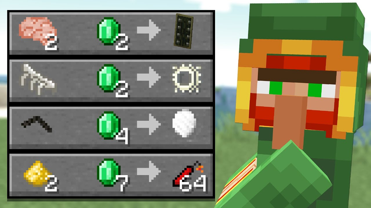 The Wandering Trader Update Is Bad So We Changed It Minecraft