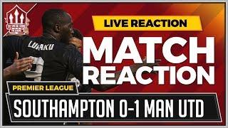 Southampton 0-1 Manchester United | LUKAKU Goal Wins it!