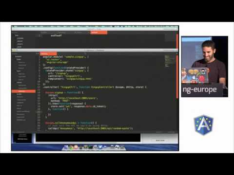 Make your Angular app a max security prison by Matias Woloski & Martin Gontovnikas at ng-europe 2014