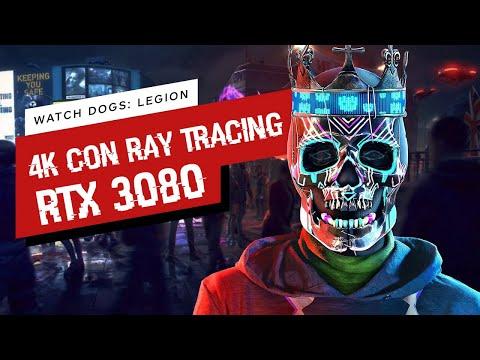 Watch Dog Legion Análisis de rendimiento a 4k DLSS y Ray Tracing con una NVIDIA RTX 3080
