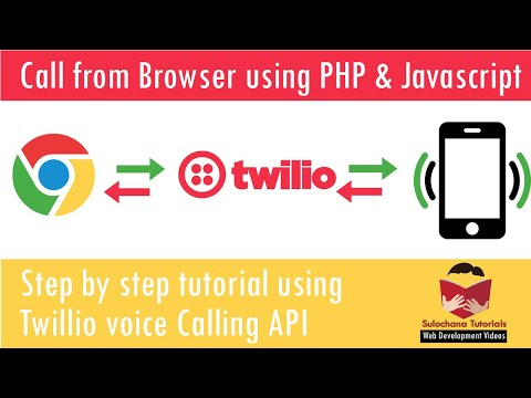 Voice Call With Browser Using Javascript, PHP And Twillio API