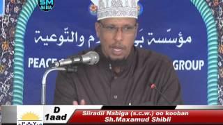 Siiradii Nabiga (صلى الله عليه وسلم ) oo kooban  Q 1aad | Sh.Maxamud Shibli | New!!!