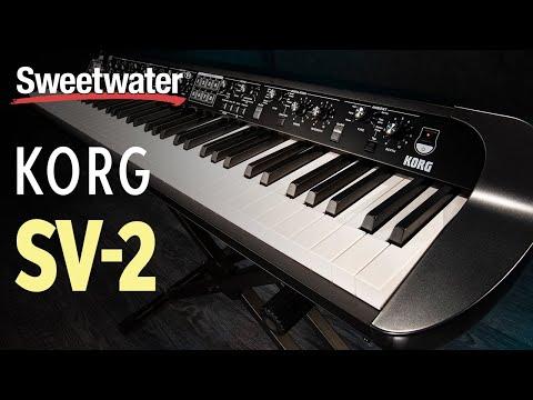 Korg SV-2 Stage Piano Demo and Deep Dive