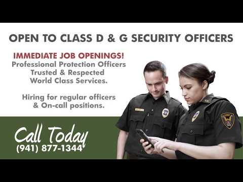 Immediate Security Job Openings