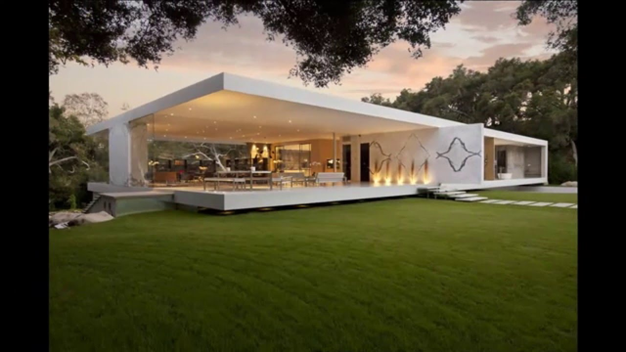 real minimalist house design - YouTube