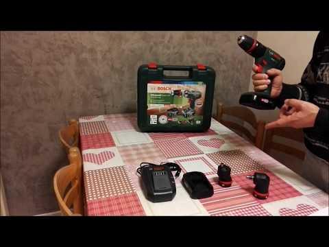 Perceuse-visseuse à percussion Bosch AdvancedImpact 18 QuickSnap