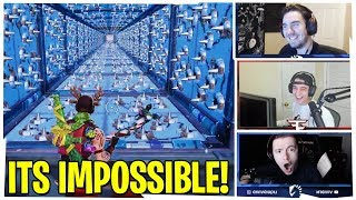 STREAMERS ATTEMPT CIZZORZ *IMPOSSIBLE* PARKOUR COURSE!