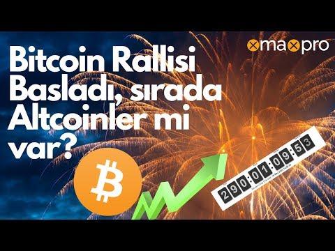 Bitcoin Yükselmeye Başladı. Sırada Altcoinler Mi Var?