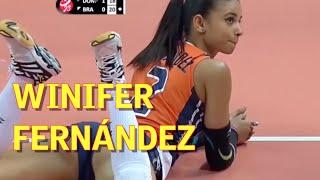 Winifer Fernández: la jugadora de volley que arrasa en la red | Diario AS