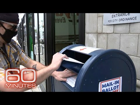60 Minutes reports on mail-in voting in Pennsylvania
