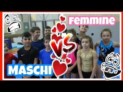 FEMMINE CONTRO MASCHI STAFFETTA CHALLENGE | Ginnastica Artistica CSB
