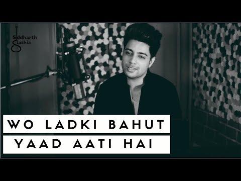 Woh Ladki Bahut Yaad Aati Hai (Sad) - Unplugged | Kumar Sanu | Qayamat | Siddharth Slathia