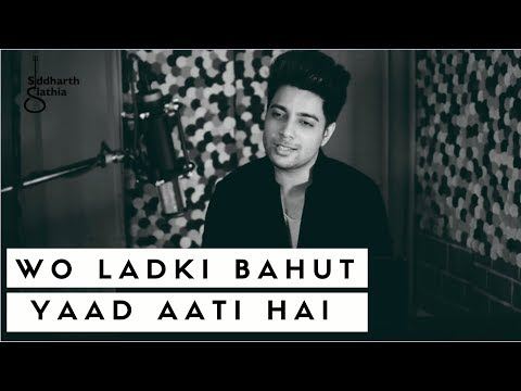 Woh Ladki Bahut Yaad Aati Hai - Unplugged | Kumar Sanu | Qayamat | Siddharth Slathia