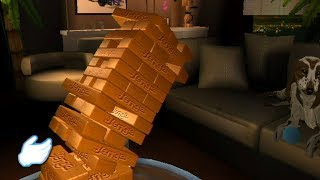 Jenga but It's a terrible Wii game