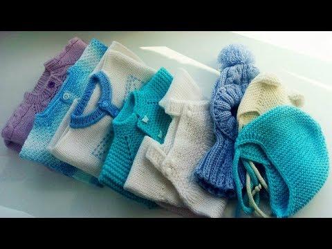 Вязаные вещи для новорожденных своими руками