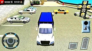 Truck parking game Shopping Mall Car & Truck Parking #4- Android Gameplay HD