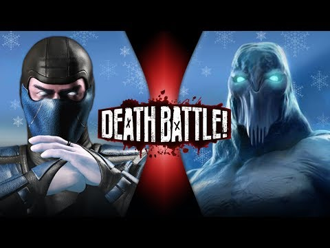 Sub-Zero VS Glacius | DEATH BATTLE!