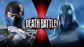 Sub-Zero VS Glacius (Mortal Kombat VS Killer Instinct) | DEATH BATTLE! thumbnail