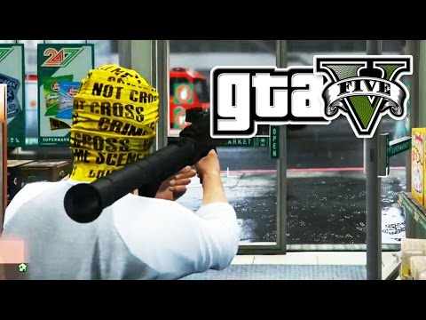 GTA 5 - INCONVENIENT STORE ROBBERY - E15 | (Grand Theft Auto 5 Online PC Gameplay) Pungence