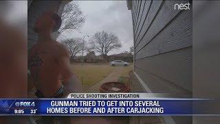 Homeowners describe encounters with crime spree suspect
