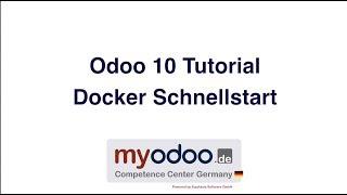 Odoo 10 Myodoo Docker Schnellstart