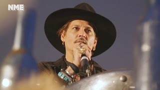 Johnny Depp Apologizes For Joke He Made About Assassinating President Trump